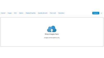 upload images in one click for CS-Cart